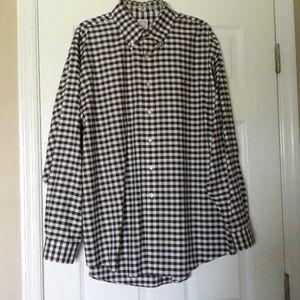 Brooks Brothers Plaid Button down shirt size XL